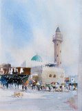Spencer Tart watercolour artist original SUK MUSCAT