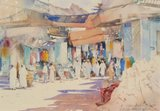 Spencer Tart watercolour artist original OLD SUK MUSCAT
