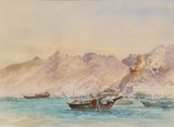 Spencer Tart watercolour artist original MUTRAH