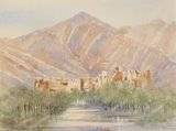Spencer Tart watercolour artist original BAHLAFORT