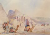Spencer Tart watercolour artist original PETRA BATRA
