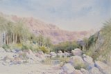 Spencer Tart watercolour artist original WADI TIWI